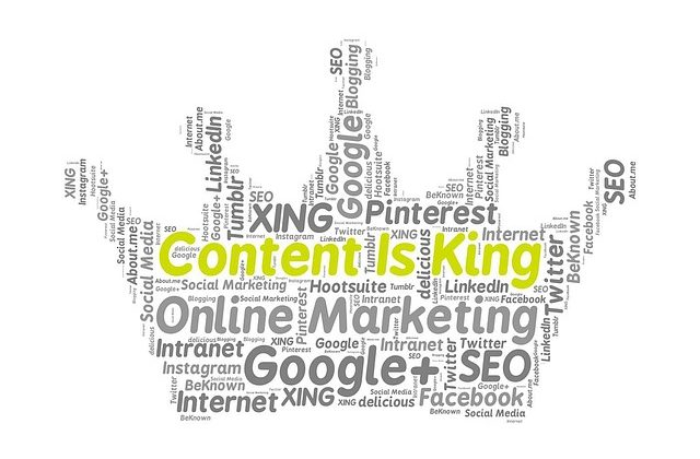 Tag Cloud - Content Marketing für KMU