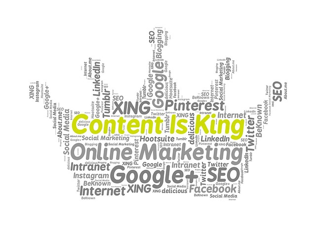Tag Cloud - Content Marketing für KMU